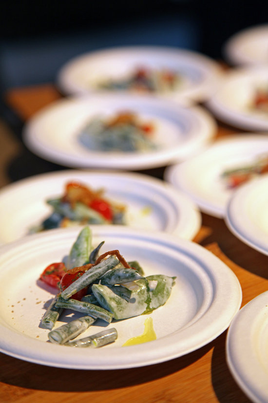 American Box's Green Bean Salad
