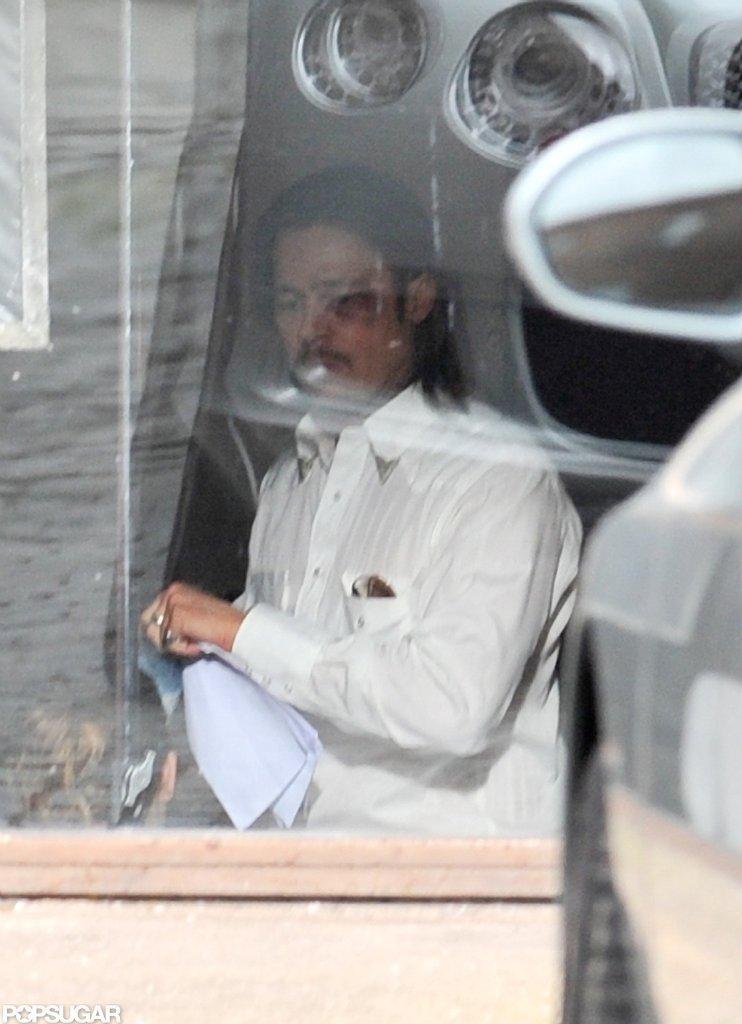 Brad Pitt shot The Counselor.