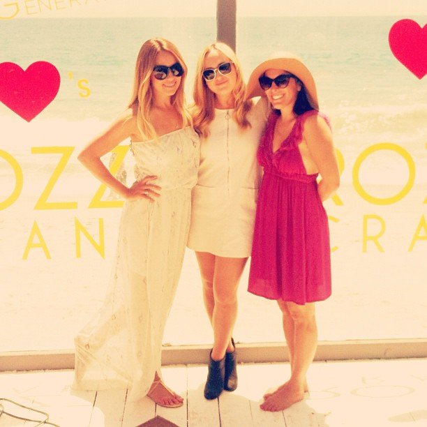 Lauren Conrad hit a beach party with some friends. Source: Instagram user laurenconrad