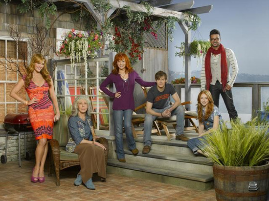 The cast of Malibu Country.