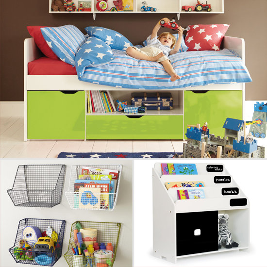 Storage solutions for small kids 39 rooms popsugar moms - Small space storage solutions for bedroom ideas ...