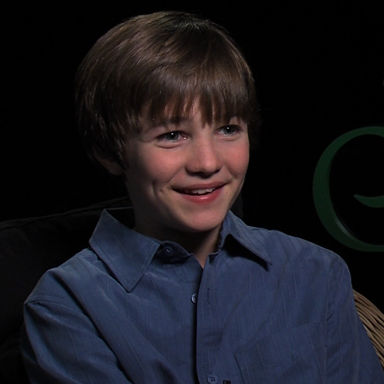 CJ Adams Talking About the Odd Life of Timothy Green | Video