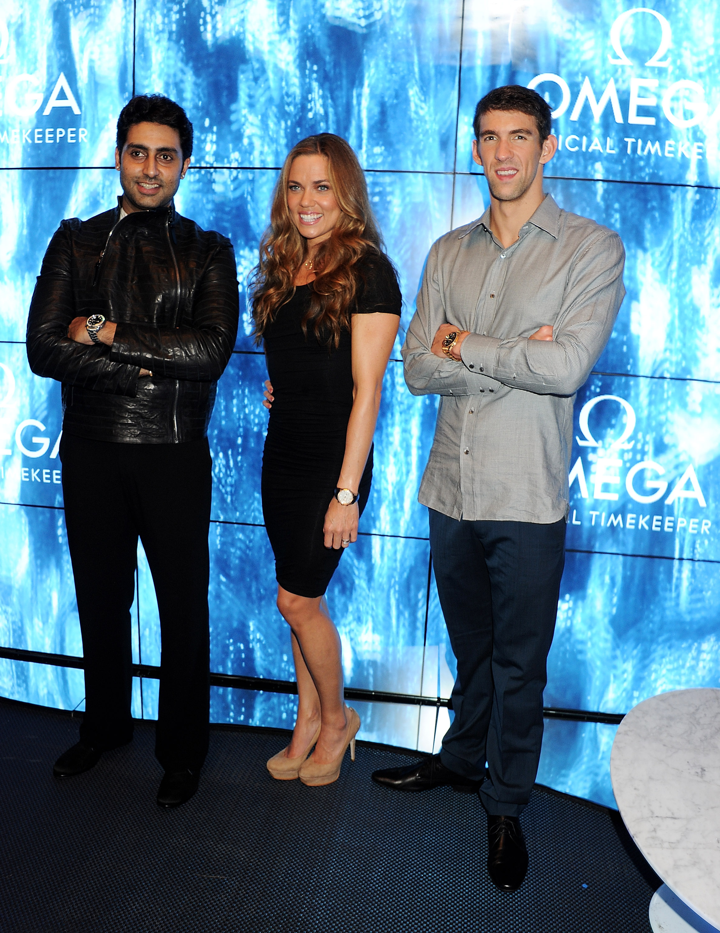 Michael Phelps posed with Natalie Coughlin at a party at ...
