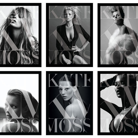 The Kate Moss Book 8 Different Covers