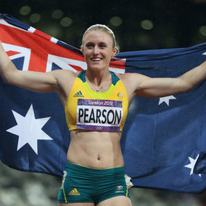 Pictures: Sally Pearson Wins Gold Medal and Sets 100m Hurdles Olympic Record at 2012 London Olympics