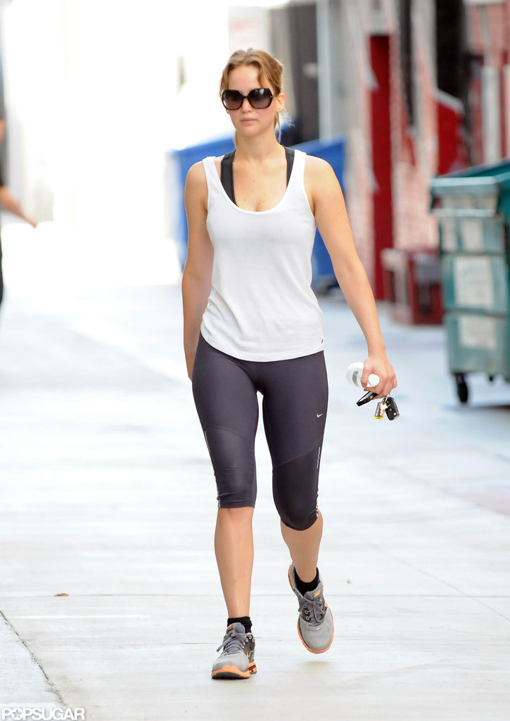 Jennifer Lawrence showed off her fit figure in her workout ... Gwyneth Paltrow Diet