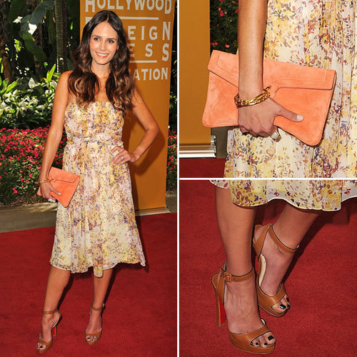 Jordana Brewster Has the Prettiest Girls-Who-Brunch Dress