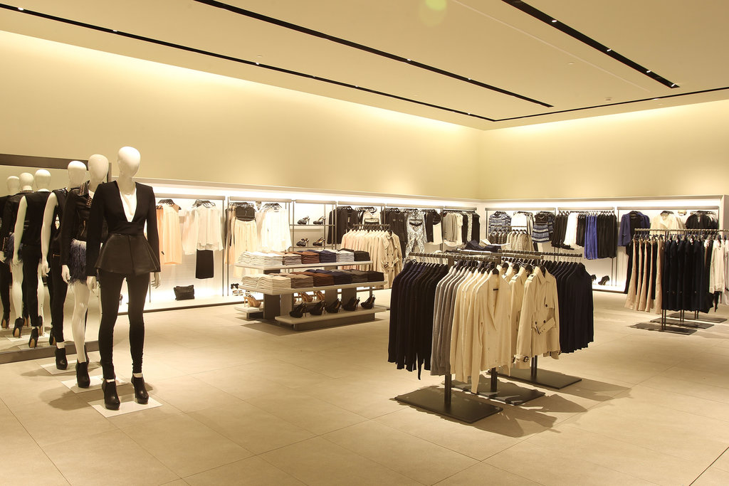 Zara Women on level one.