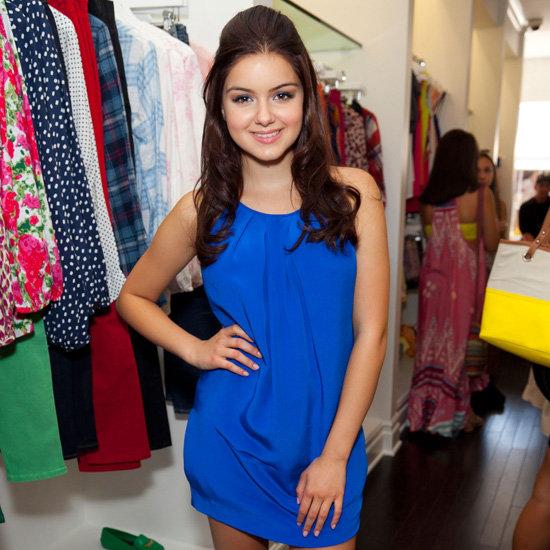 Ariel Winter Wearing a Cobalt Blue Dress
