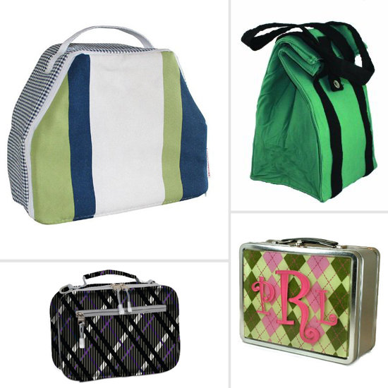 Preppy Lunch Bags