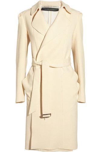 Roland Mouret|Textured wool and silk coat|NET-A-PORTER.COM