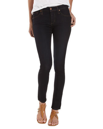 James Jeans Twiggy Five-Pocket Jegging, Blue Black