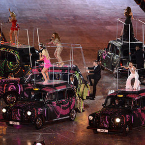 Spice Girls Reunion Pictures Performing at 2012 London Olympics Closing Ceremony
