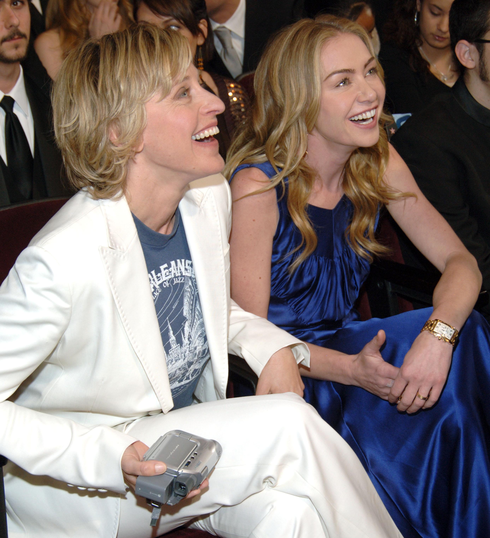 Ellen DeGeneres couple