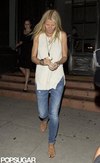 Gwyneth Paltrow dined at Tavern.