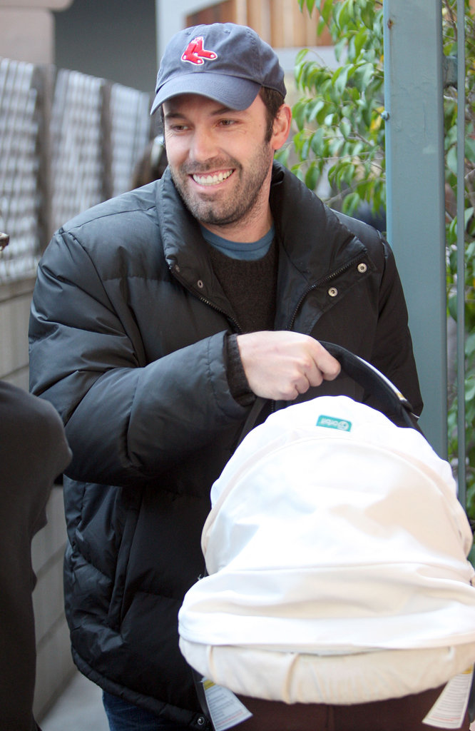 Ben Affleck appeared to be in high spirits when leaving an LA appointment with daughter Seraphina in tow in March 2009.