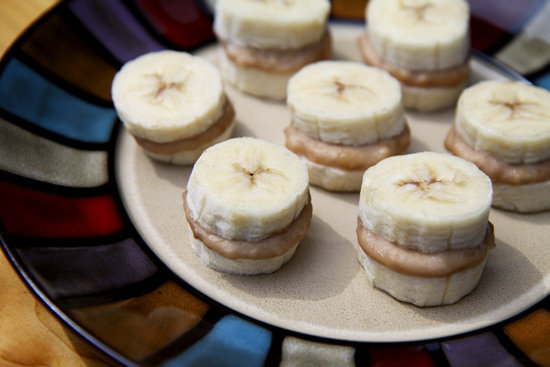 Frozen Nutty Banana Nibblers