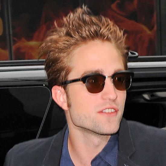 Robert Pattinson on Good Morning America (Video)