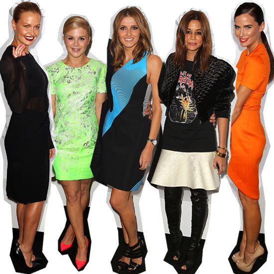 Celebrity Front Row at the 2012 David Jones Spring Summer Fashion Launch: Lara Bingle, Megan Gale, Jodi Gordon & more!