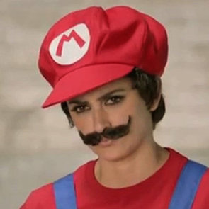 Penelope Cruz as Nintendo's Mario (Video)