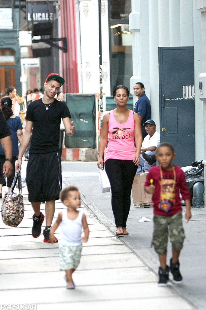 Alicia Keys Keeps an Eye on Her Son Egypt and New Album