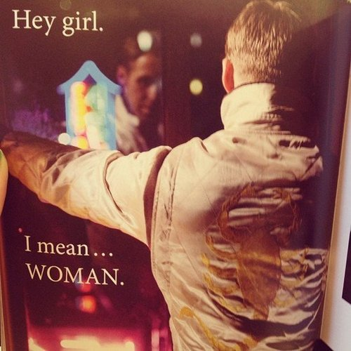 Hey girl, here's a highlight from the feminist Ryan Gosling book.