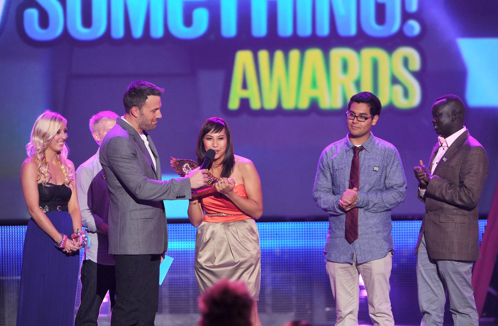 Ben, Lea and Cory, and Kristen and Dax Celebrate Do Something