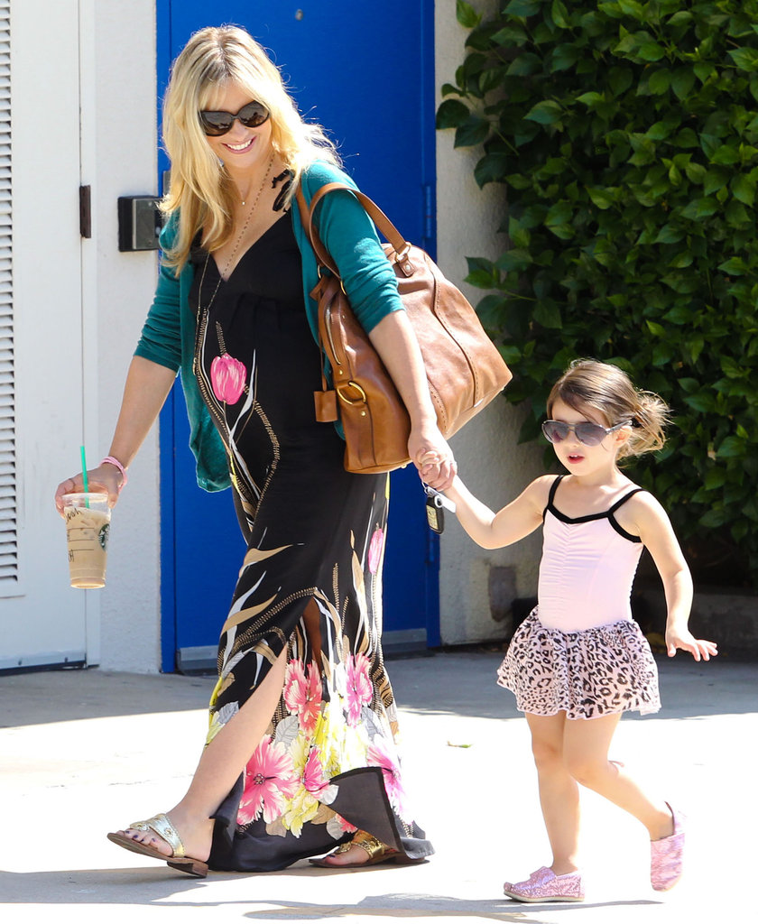 Sarah Michelle Gellar was all smiles with Charlotte Prinze.