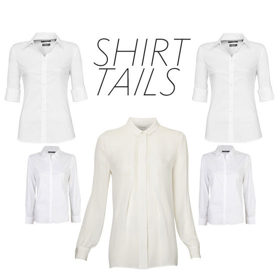 The Essential Wardrobe: Shop Our Top Ten White Online with Herringbone, James Perse, J Brand & more