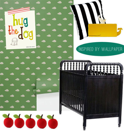 10 Nursery Design Ideas Inspired by Wallpaper