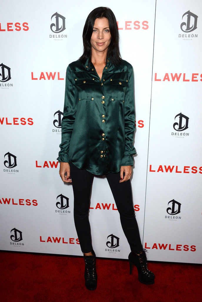 Liberty Ross checked out the LA premiere of Lawless.