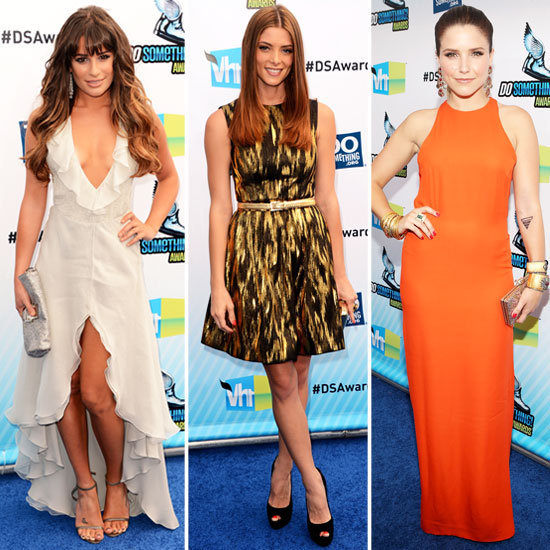 Lea Michele, Ashley Greene, and more brought out the glam for the Do Something Awards.
