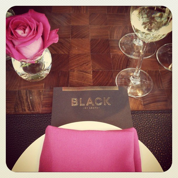 The Spanx team treated Ali to lunch at Black by Ezard at The Star.