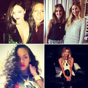 Miranda Kerr, Rihanna, Jennifer Hawkins, Whitney Port And Lara Bingle Instagram Pics