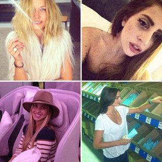 Lara Bingle, Lady Gaga, Miranda Kerr And Whitney Port Post Instagram, Twitter And Facebook Pics