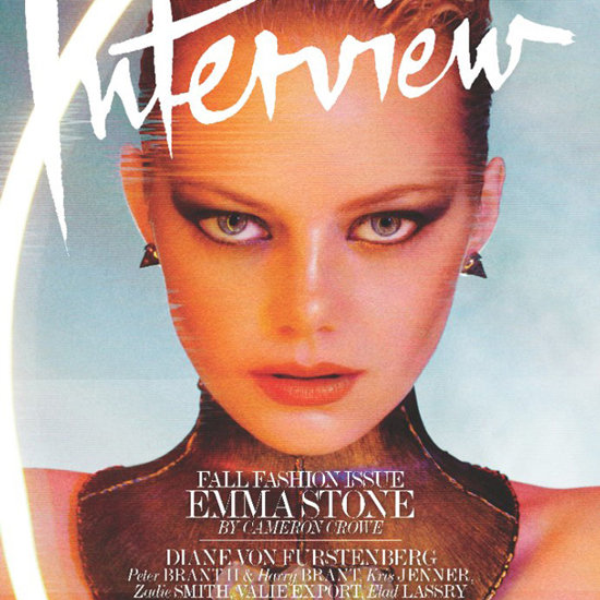 Emma Stone Covers Interview's September 2012 Issue