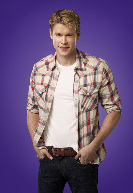 Chord Overstreet as Sam on Glee.