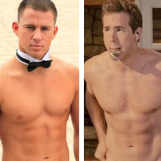 Hot Shirtless Celebrities Video Including Robert Pattinson, Ryan Reynolds, David Beckham, Channing Tatum