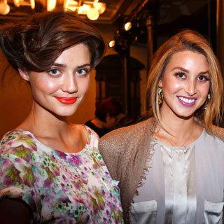 The Whitney Whip Hair at Whitney Port's Mercedes-Benz Fashion Festival Sydney Presentation