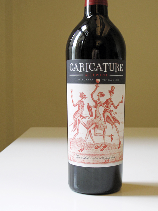 Aug. 16: 2010 Caricature Red Wine