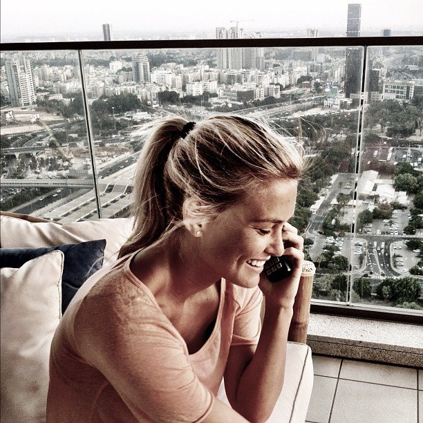Bar Refaeli concluded her Summer of fun by returning home to Tel Aviv in August.