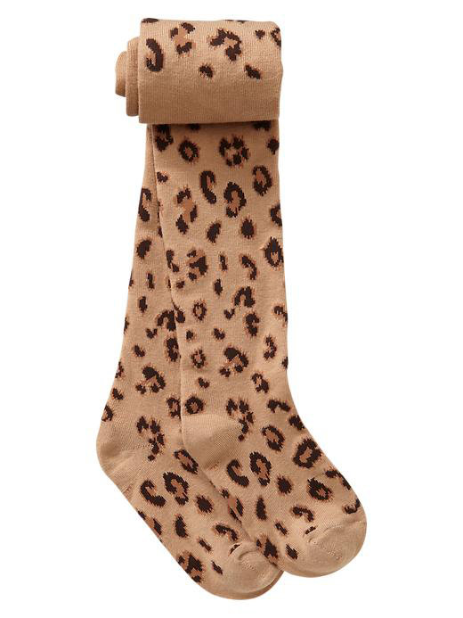Gap Leopard Uniform Tights ($11)