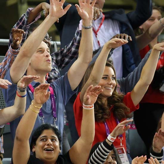 Kate Middleton and Prince William Do the Wave at Paralympics