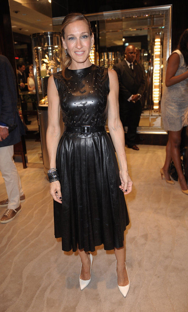 Sarah Jessica Parker was clad in black leather for the 2011 celebration.