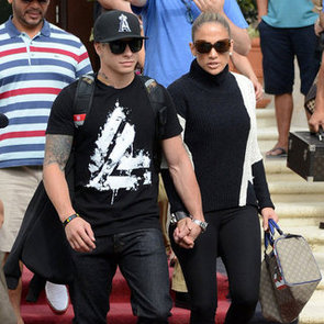 Jennifer Lopez and Casper Smart Lunch Date | Pictures
