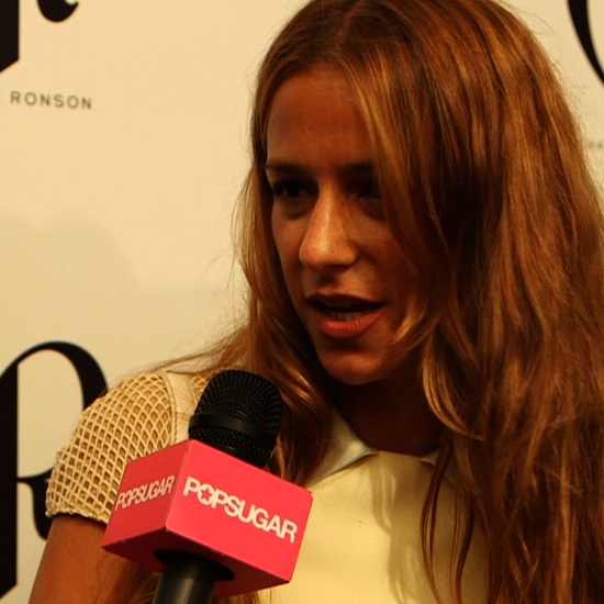Video of Charlotte Ronson Talking Spring Beauty Trends — Bushy Brows and Dewy Skin