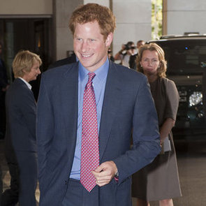 Prince Harry's First Official Event Since Naked Pictures