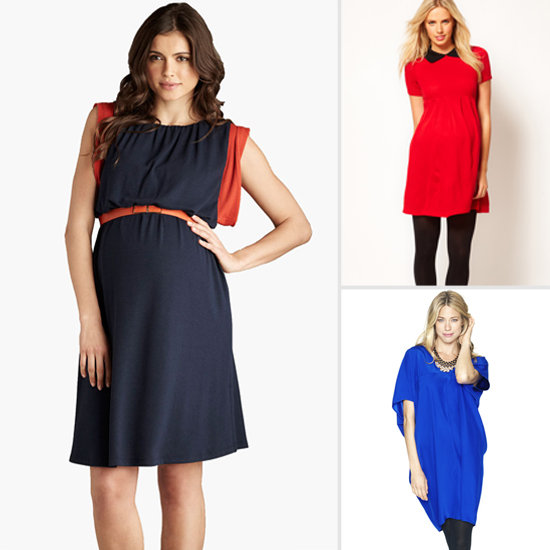 10 On-Trend Maternity Dresses For Fall