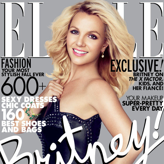 Britney Spears Covers October 2012 Elle | Pictures
