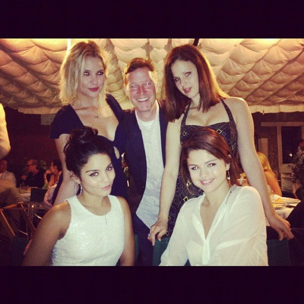 The girls of Spring Breakers posed together at the Venice Film Festival. Source: Instagram user itsashbenzo